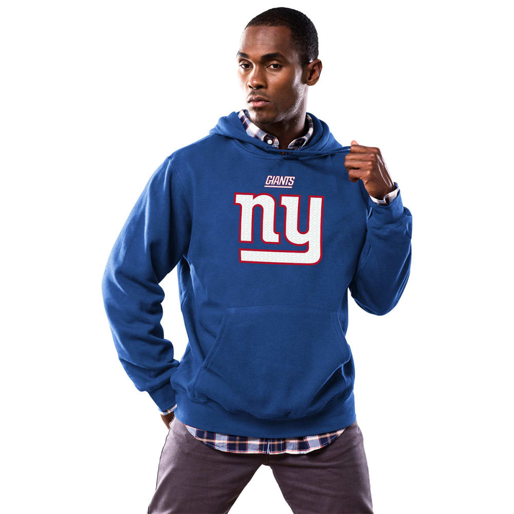 NEW YORK GIANTS Men's Critical Victory Fleece Hoodie - ROYAL BLUE