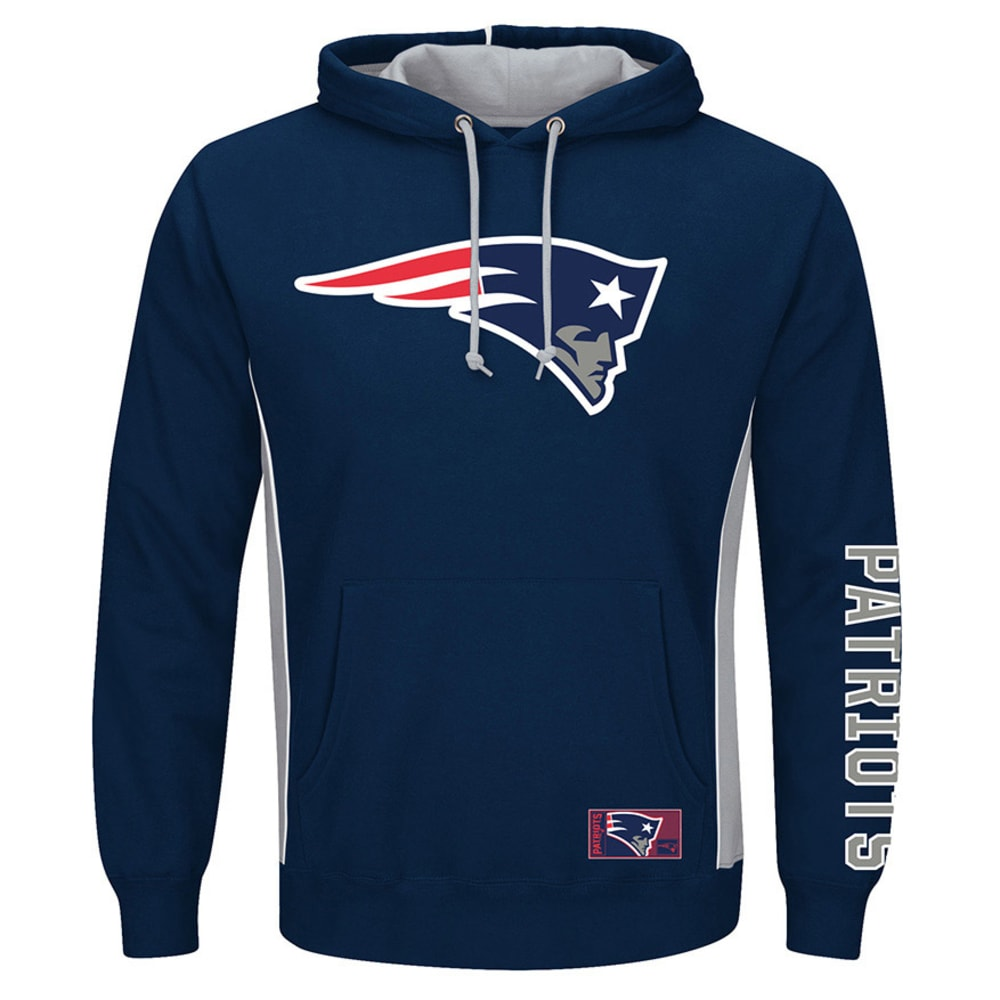 NEW ENGLAND PATRIOTS Men's Passing Game IV Pullover Hoodie - NAVY
