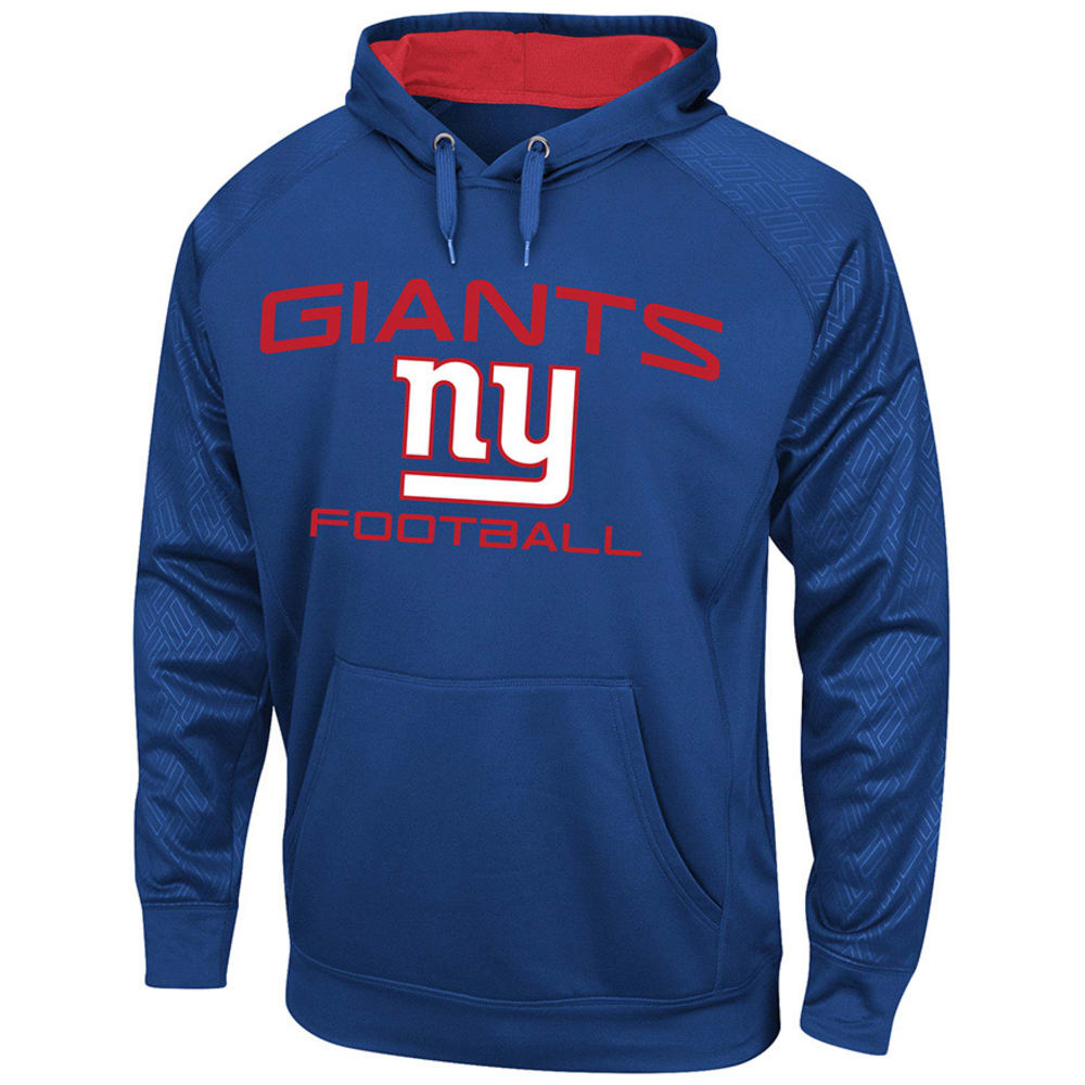 NEW YORK GIANTS Men's Gridiron VI Pullover Fleece Hoodie - ROYAL BLUE