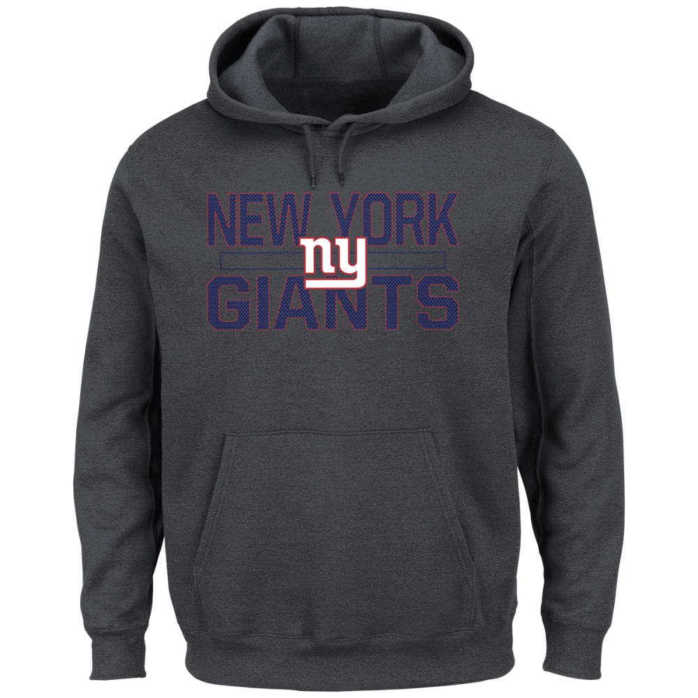 NEW YORK GIANTS Men's Kick Return Fleece Hoodie - CHARCOAL