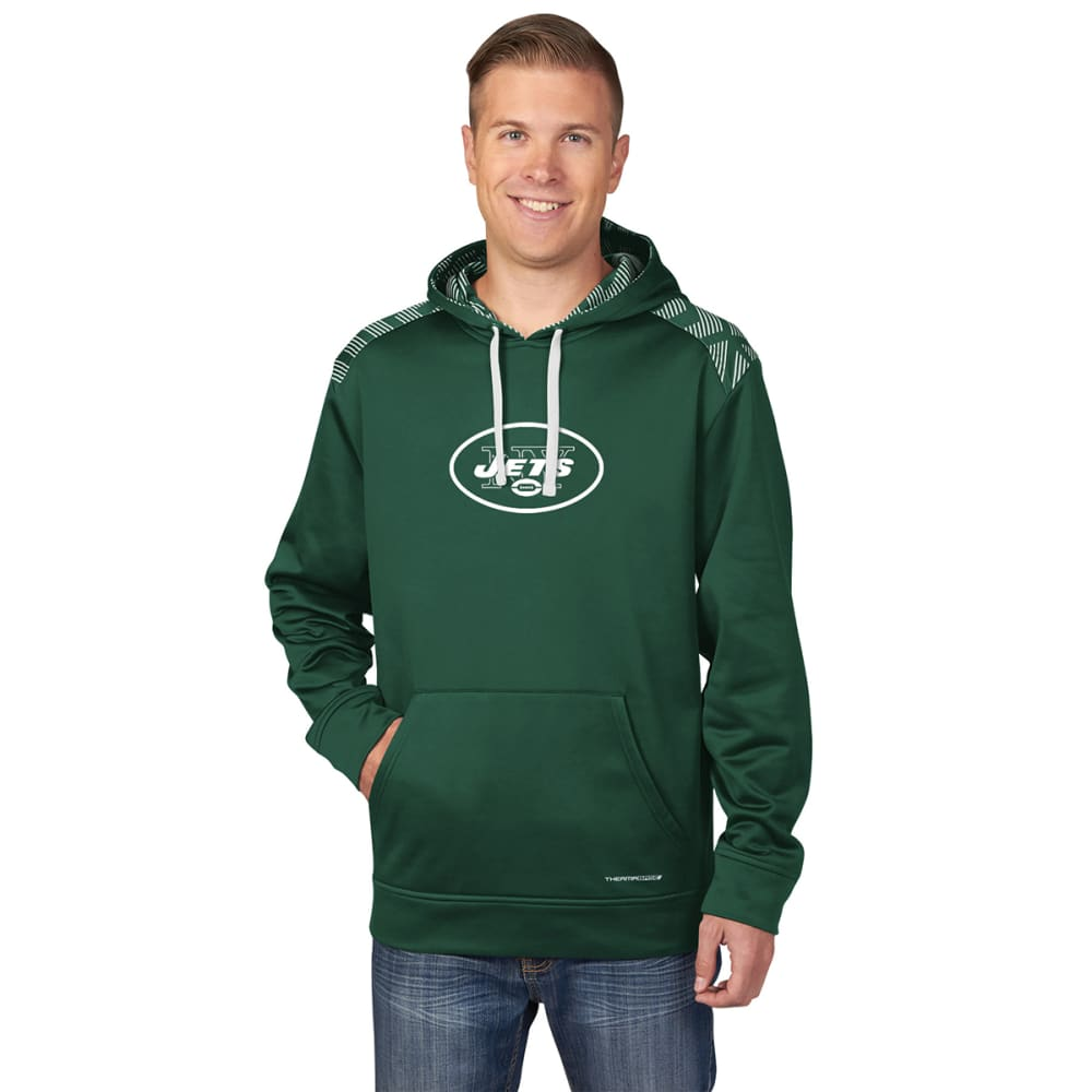 NEW YORK JETS Men's Armor Pullover Hoodie - GREEN