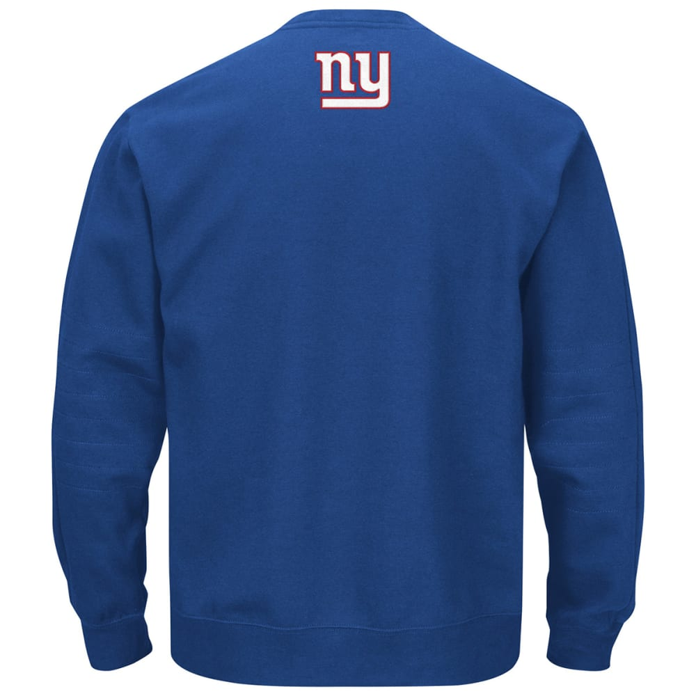 NEW YORK GIANTS Men's Winning Crewneck Fleece - ROSE OF SHARON