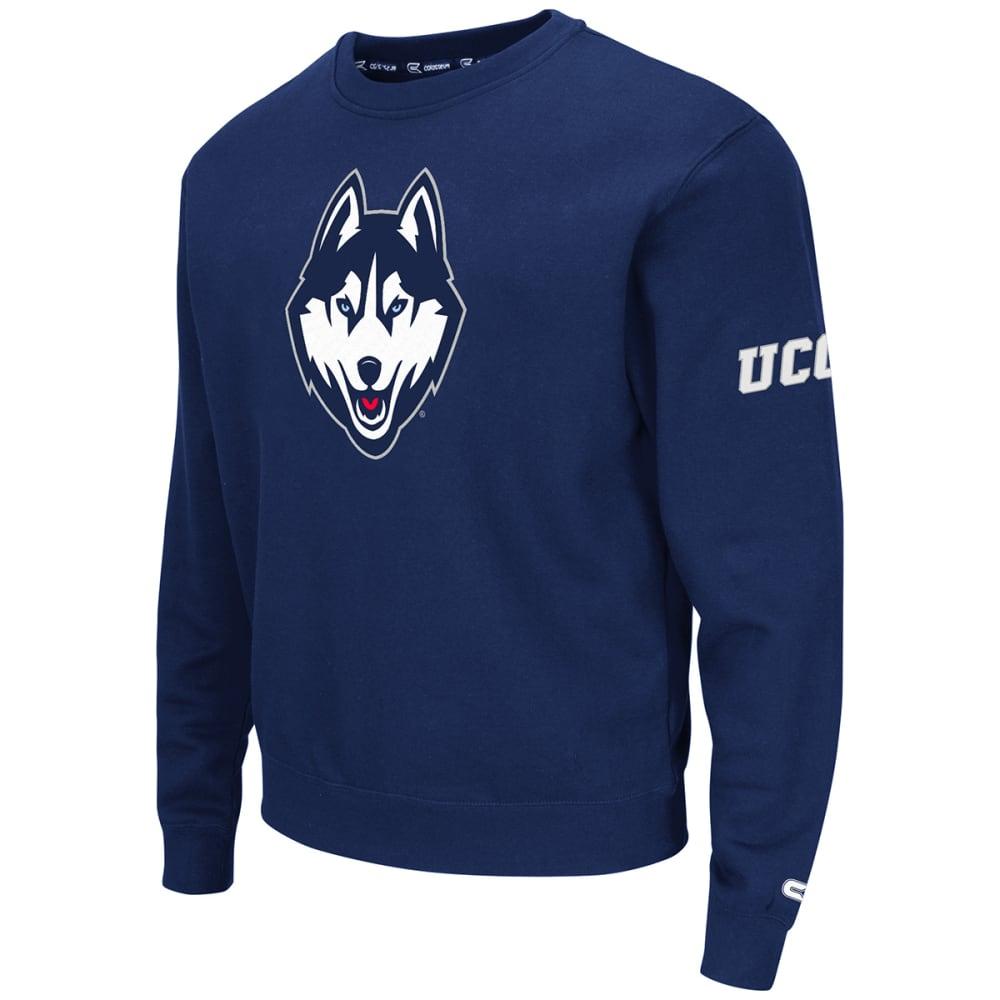 UCONN Men's Zone II Crewneck Sweatshirt - NAVY