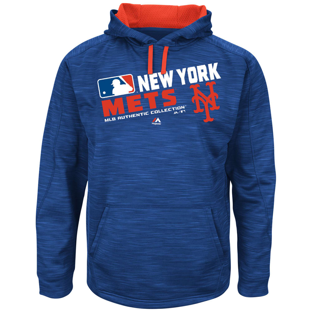 NEW YORK METS Men's On-Field Streak Fleece - ROYAL BLUE