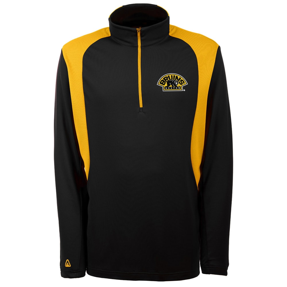 THE BOSTON BRUINS Men's Delta Pullover Jacket - GREY HOUNDSTOOTH