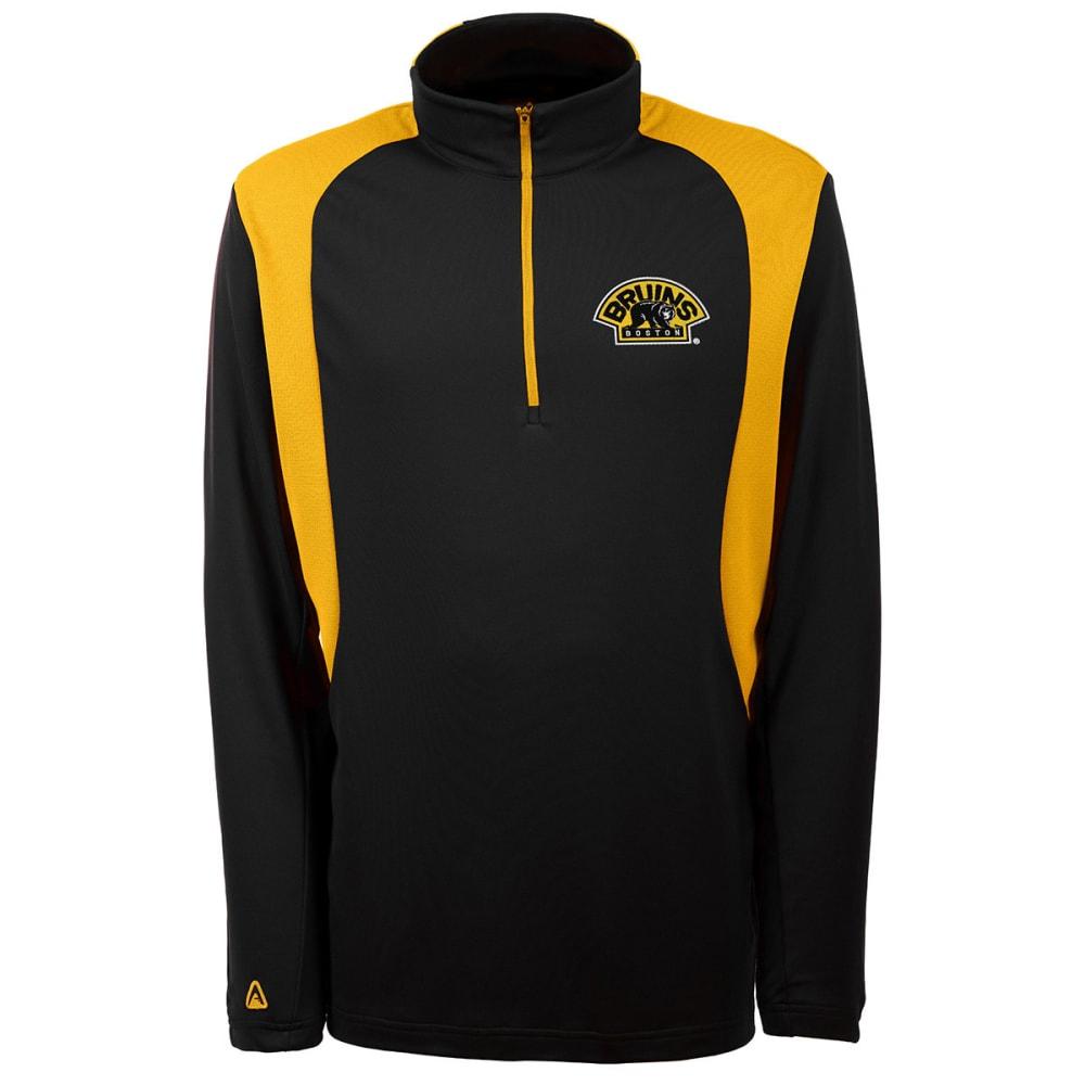 THE BOSTON BRUINS Men's Delta Pullover Jacket - GREY HOUNDSTOOTH