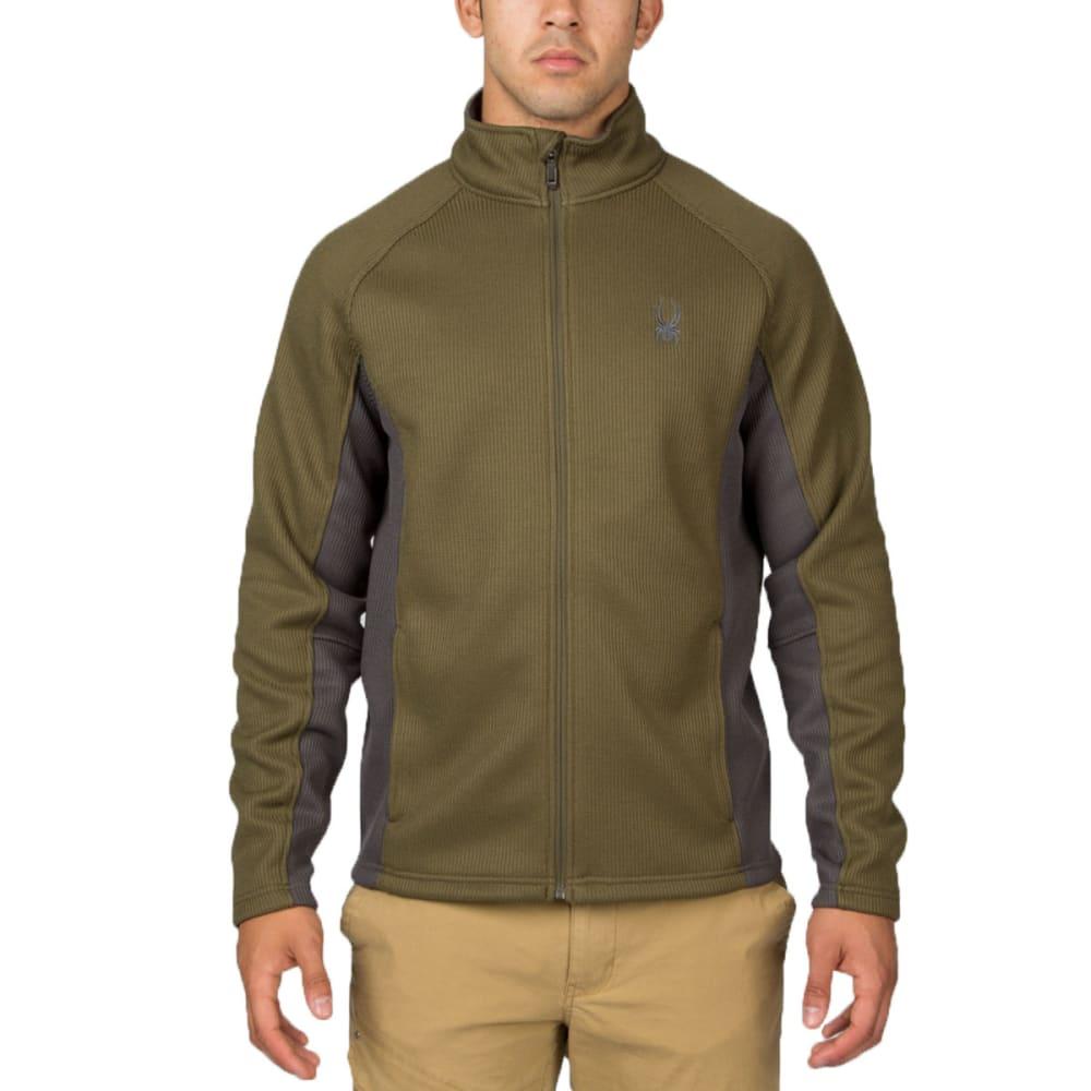 SPYDER Men's Constant Full-Zip Heavy Weight Jacket - ALGAE