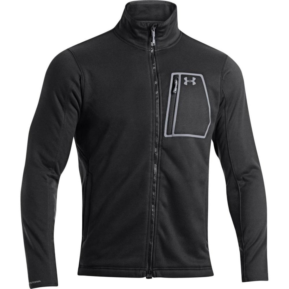 UNDER ARMOUR Men's Extreme Coldgear® Jacket - BLACK/STEEL
