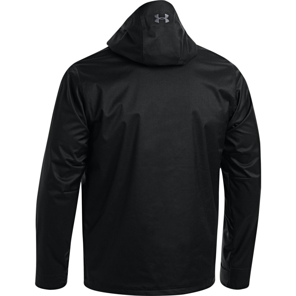 Under Armour Mens Coldgear Infra Porter 3IN1 Jacket - BLACK/STEEL