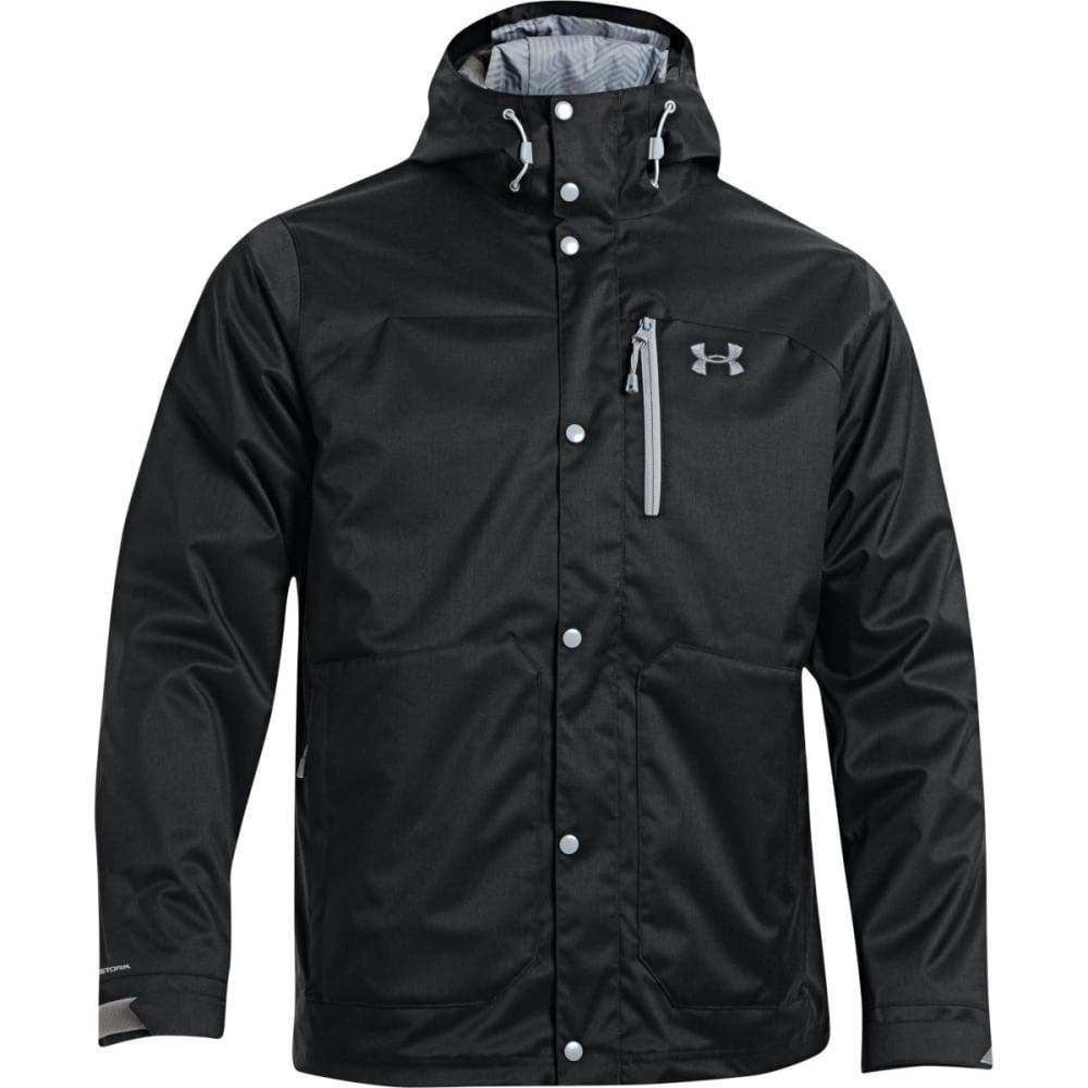 Under Armour Mens Coldgear Infra Porter 3IN1 Jacket - BLACK/STEEL