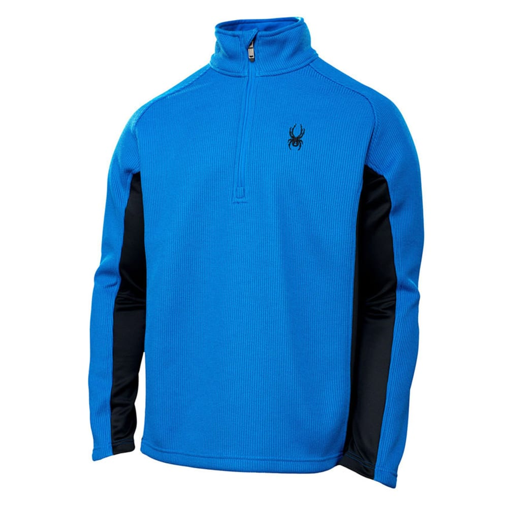 SPYDER Men's Core Sweater Outbound Half Zip - STRATOS BLUE