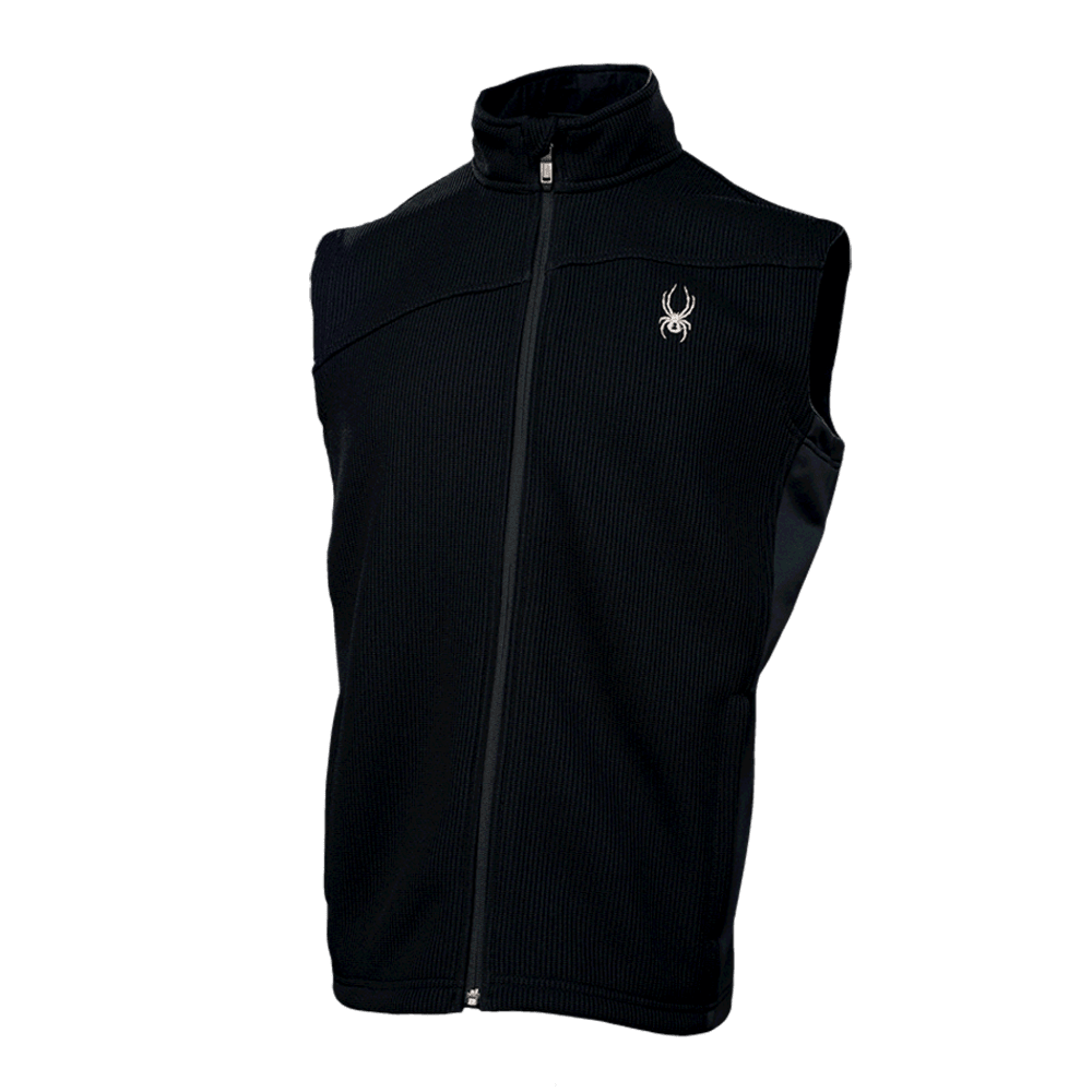 SPYDER Men's Constant Mid Weight Core Sweater Vest - ONYX