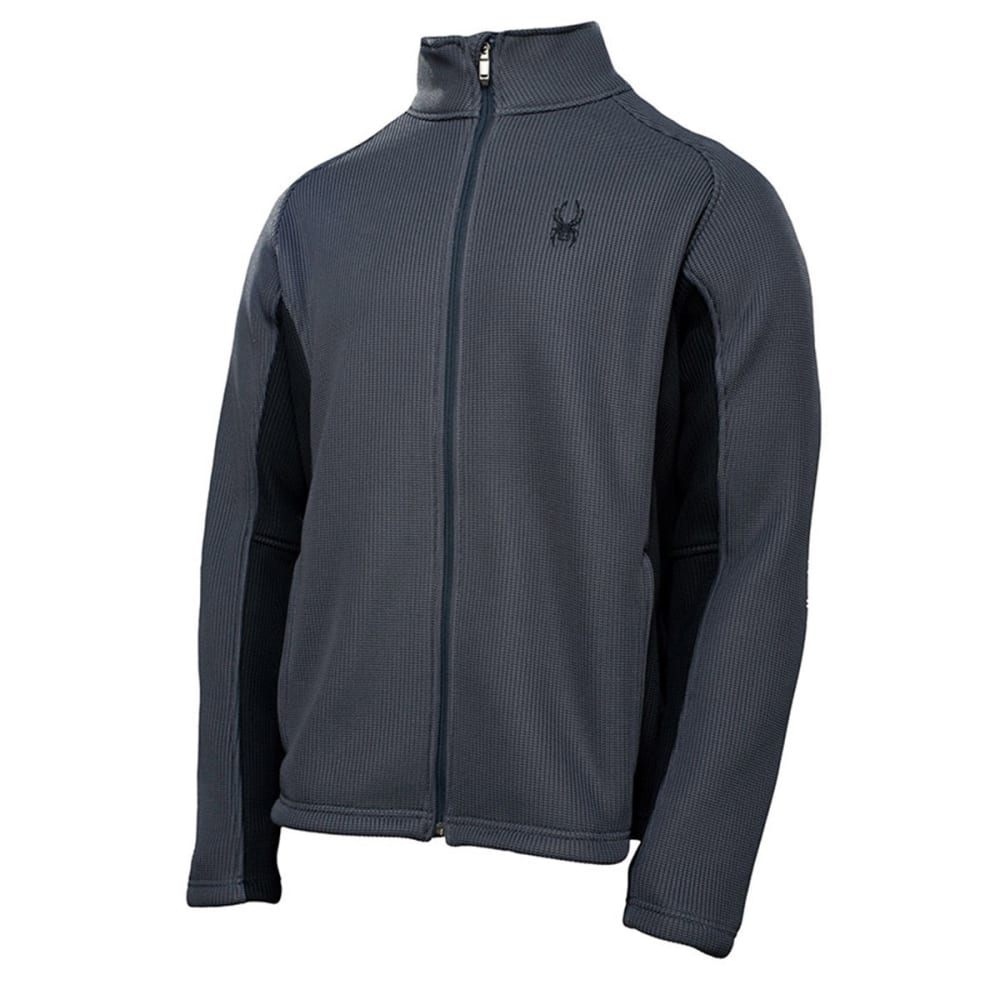 SPYDER Men's Foremost Full Zip Core Sweater Jacket - NINE IRON