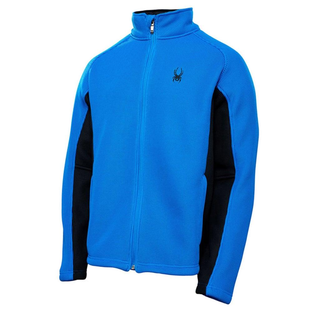 SPYDER Men's Foremost Full Zip Core Sweater Jacket - HORIZON BLUE