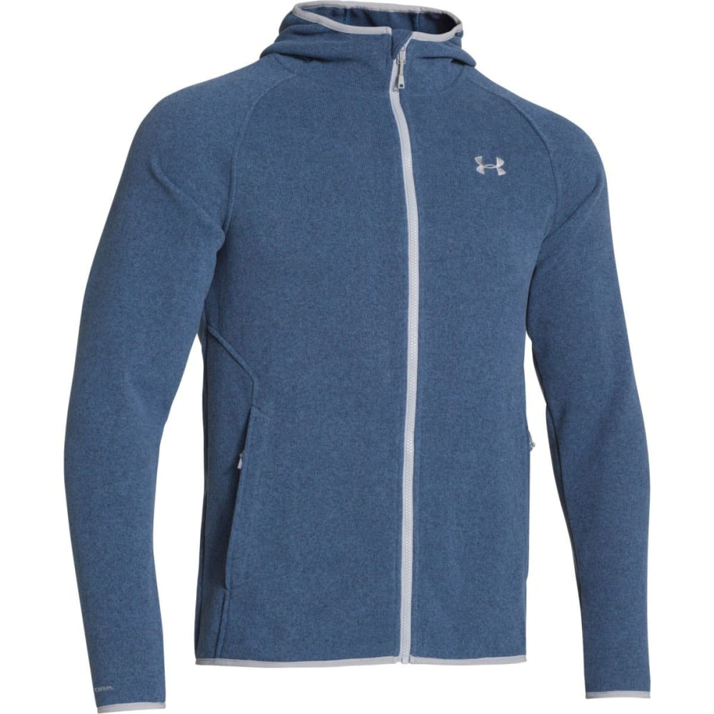 UNDER ARMOUR Storm Forest Hoodie - PETROL BLUE