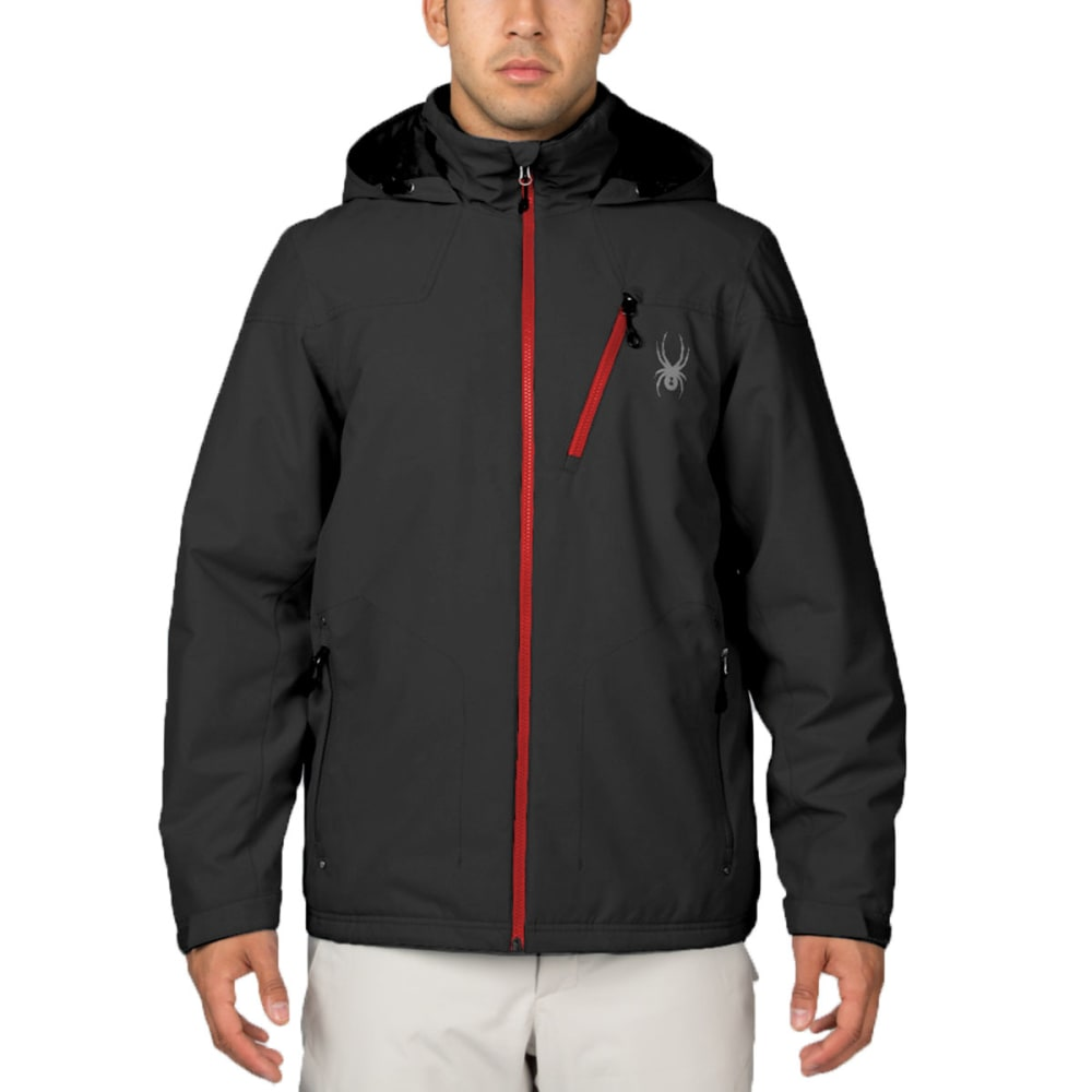 SPYDER Men's Vyrse Jacket - BLACK
