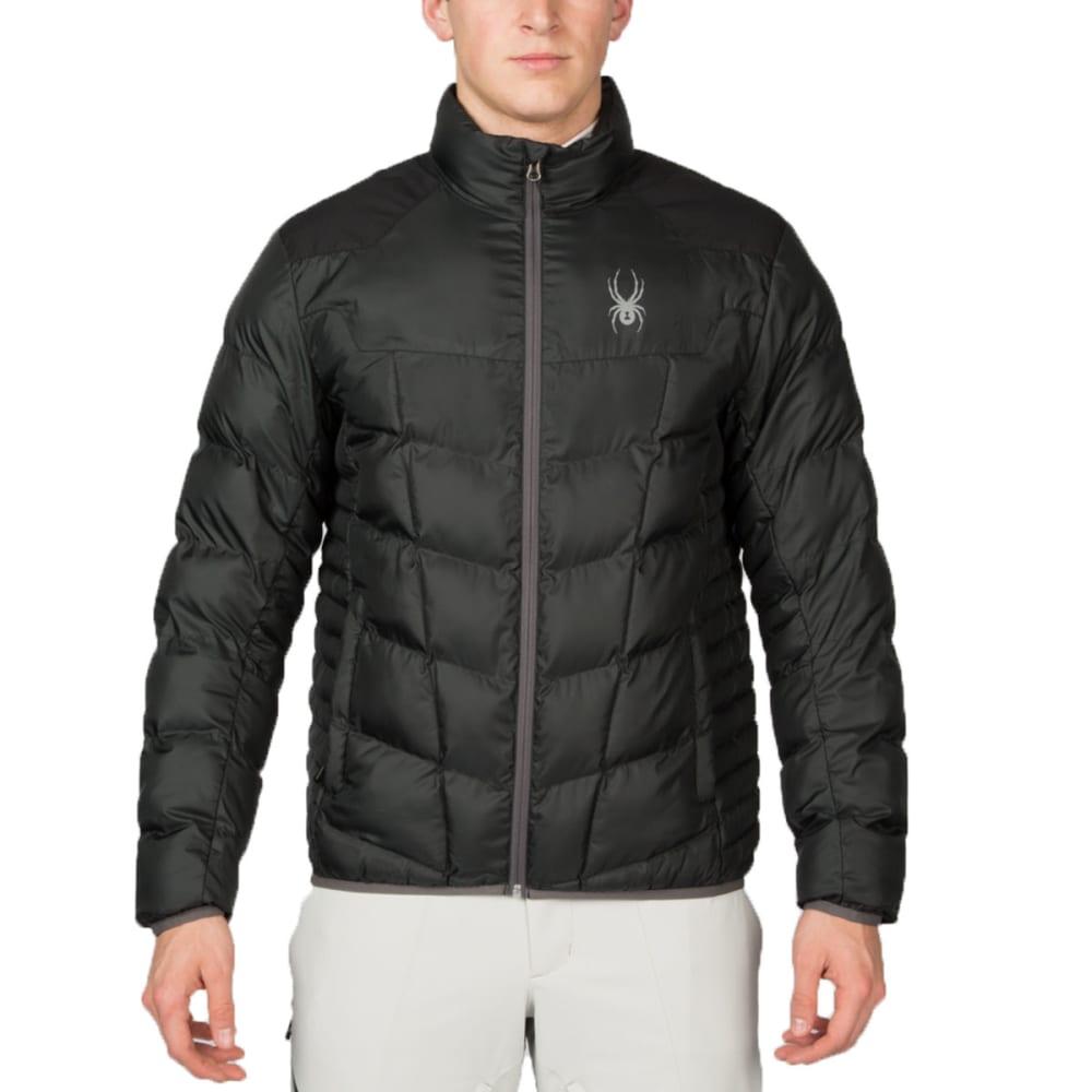 SPYDER Men's Geared Synthetic Down Jacket - BLACK