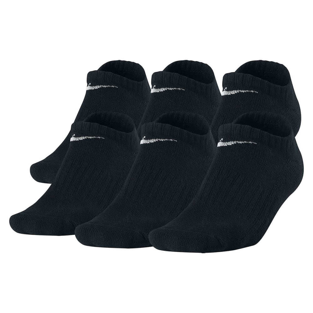 NIKE Men's Training No-Show Socks, 6 Pairs 10-13