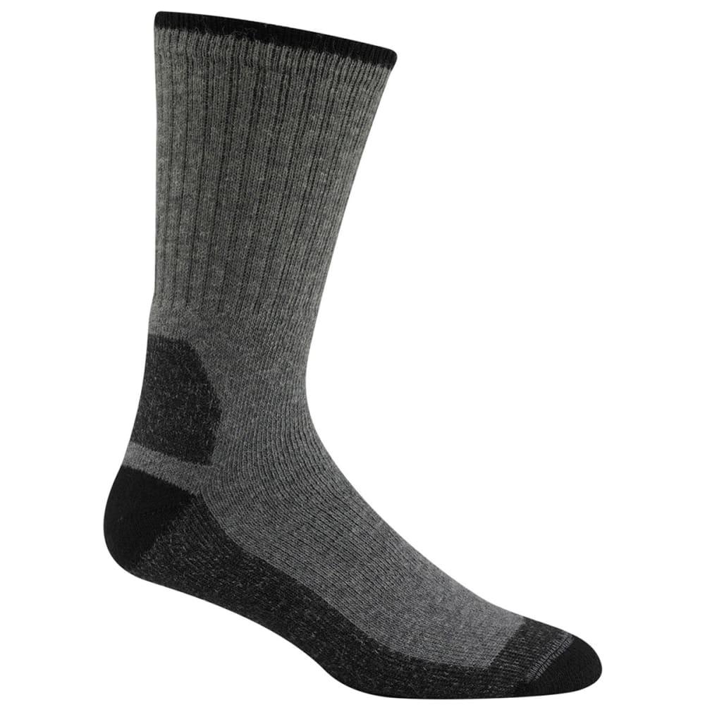 WIGWAM Men's At Work Double Duty Socks, 2-Pack - LIGHT GREY 072