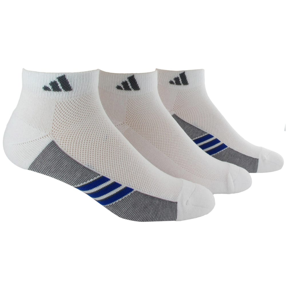 ADIDAS Men's Climacool® Superlite Low Cut Socks, 3-Pack - WHITE 5135940