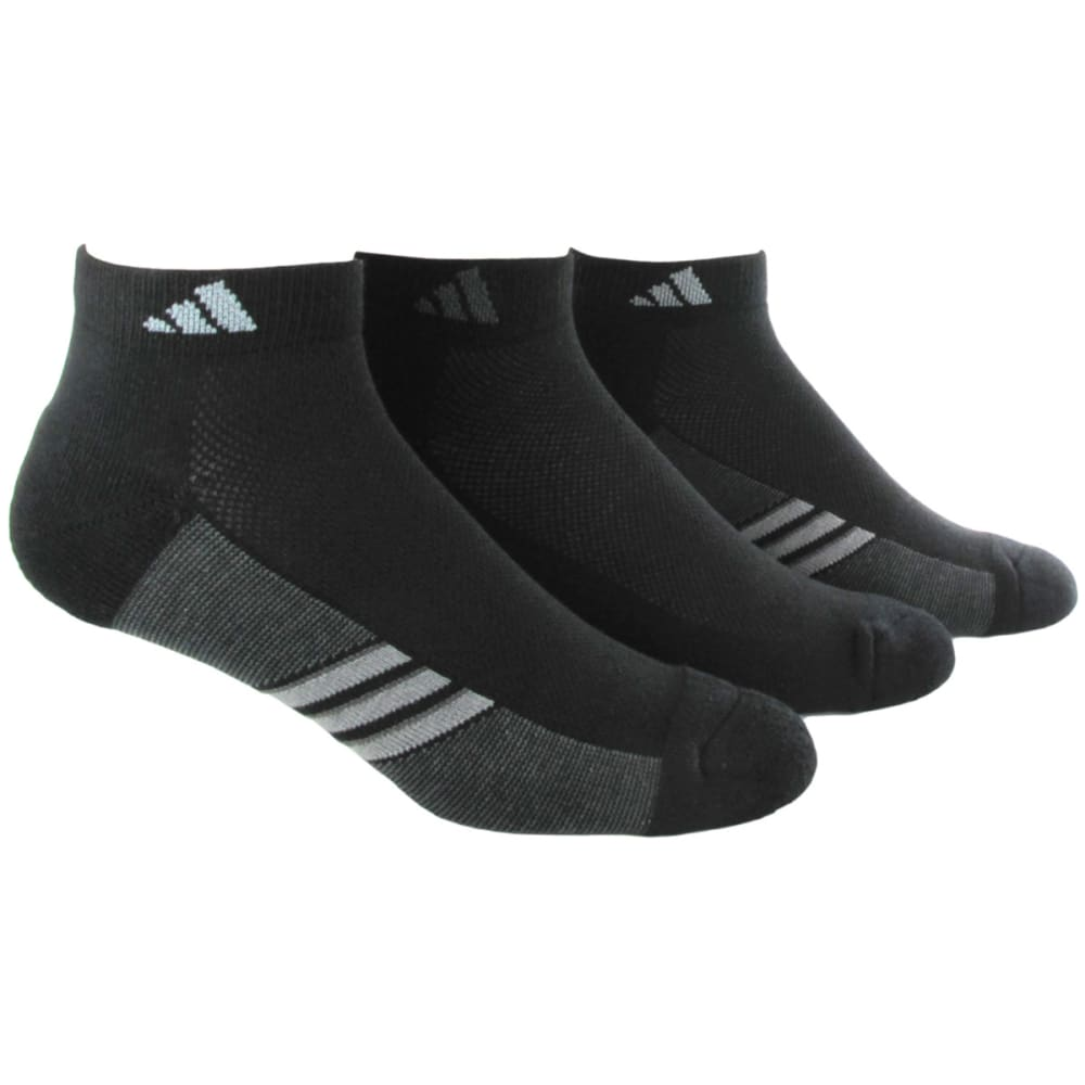 ADIDAS Men's Climacool Superlite Low Cut Socks, 3-Pack - BLACK/GRAPH 5135942