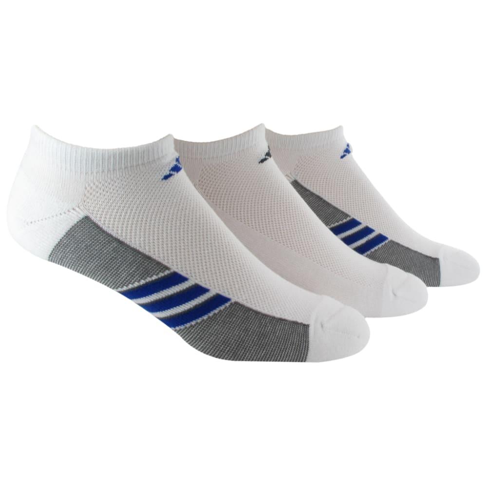 ADIDAS Men's Climacool® Superlite No Show Socks - WHITE/GREY/BLUE