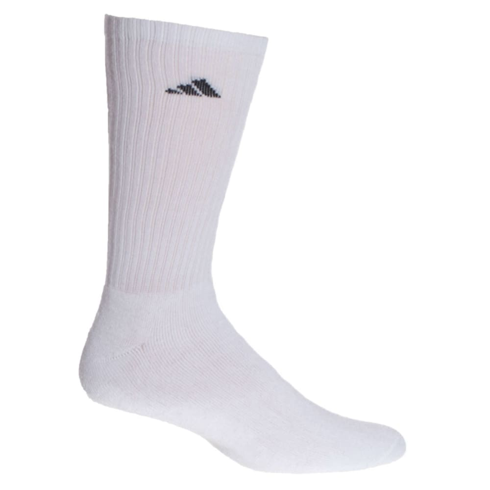 ADIDAS Men's Athletic Crew Socks, 6-Pack 10-13