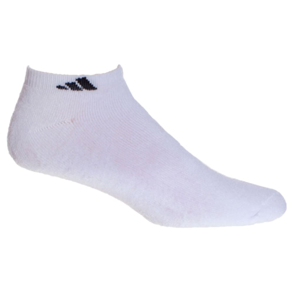 Adidas Men's Athletic Low Cut Socks, 6-Pack - White, 10-13