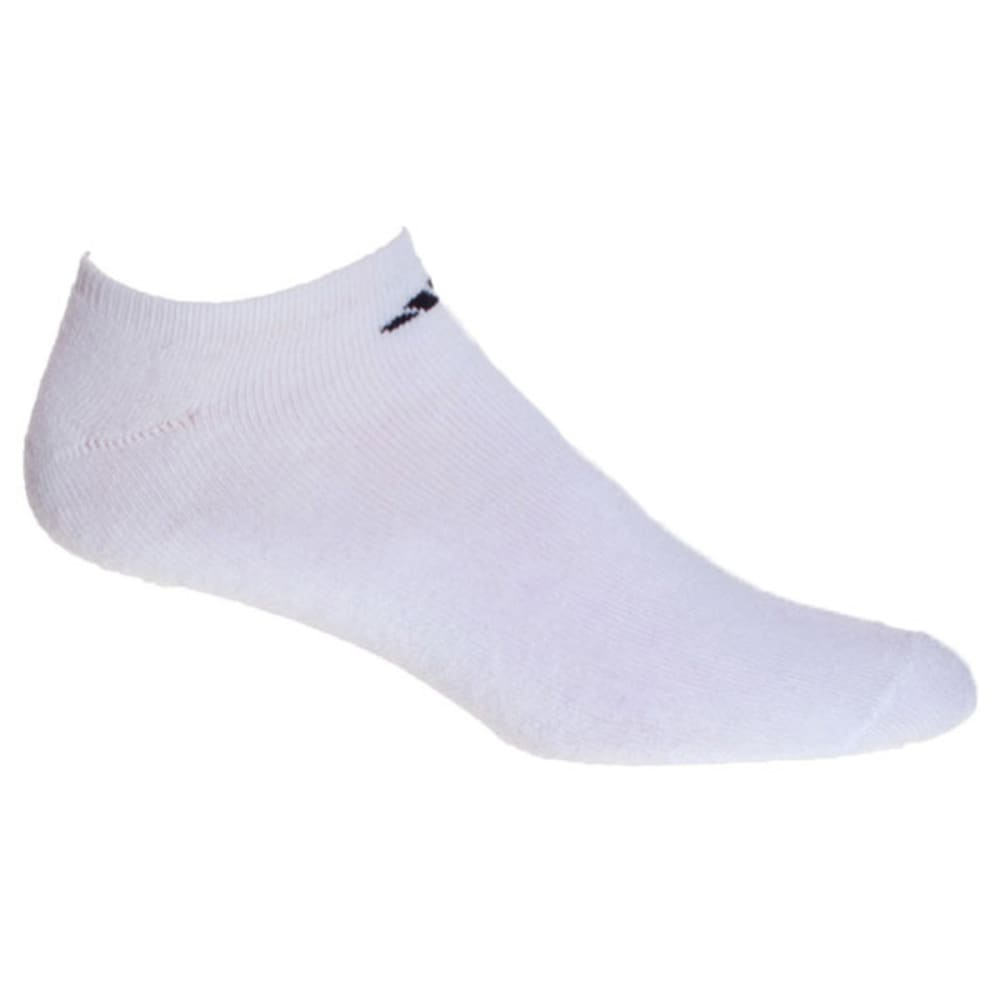 ADIDAS Men's Athletic No Show Socks, 6-Pack - WHITE