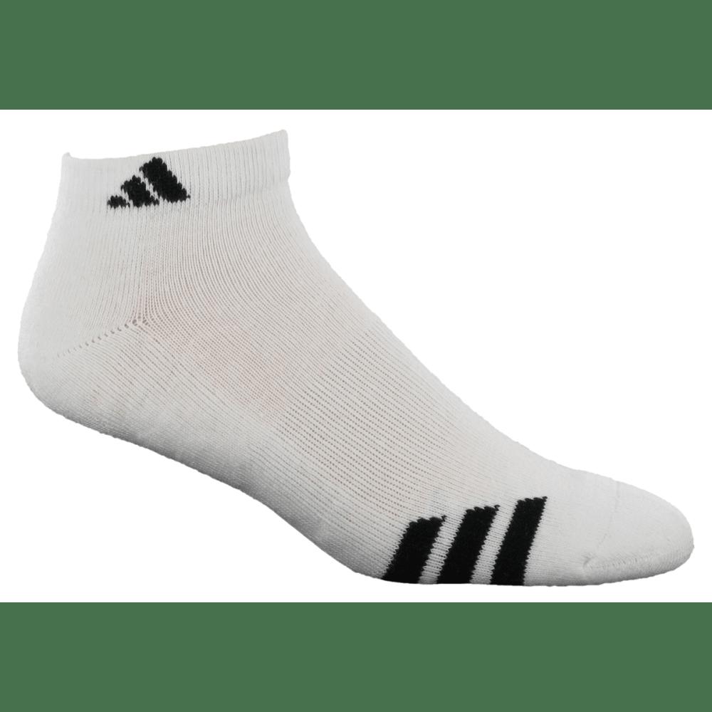 ADIDAS Men's Cushion Low Cut Socks - TEAL