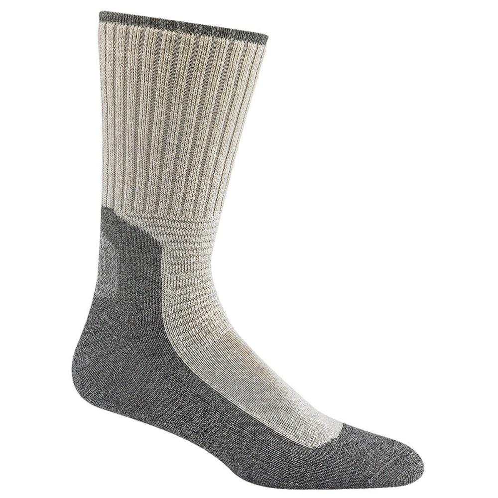 WIGWAM Men's At Work Durasole Pro Socks, 2-Pack - WHITE/GREY 902