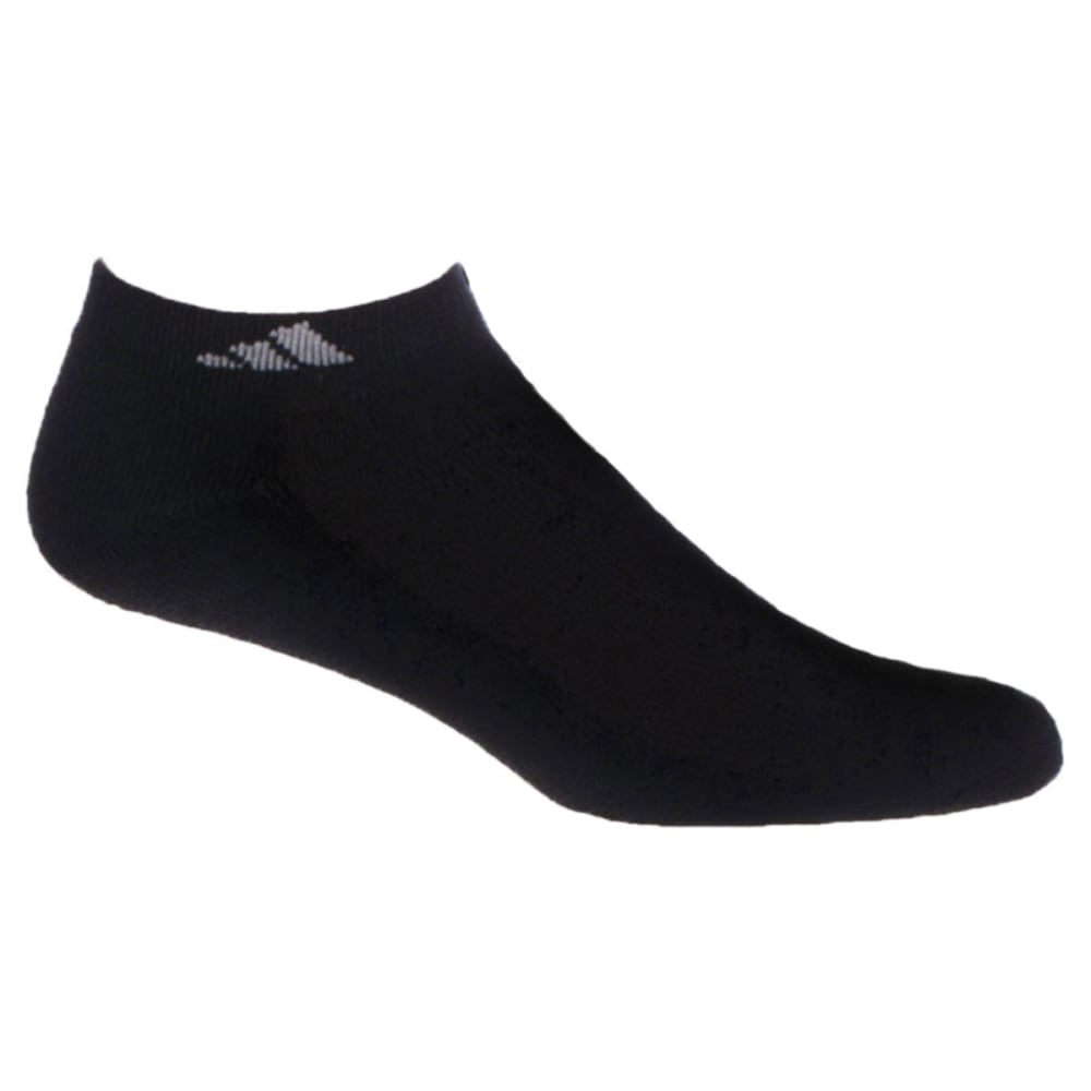 ADIDAS Men's Athletic Low Cut Socks, 6-Pack - BLACK
