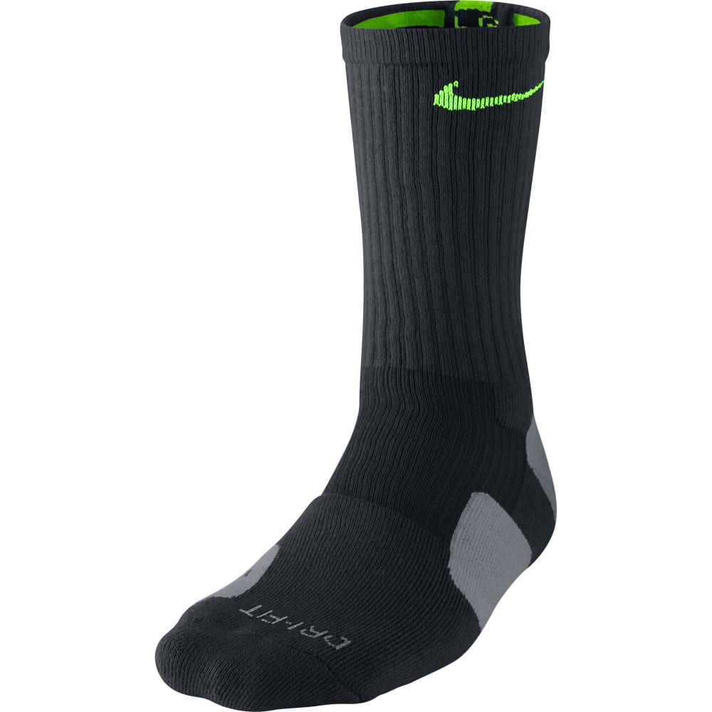 NIKE Boys' Elite Basketball Crew Socks - NONE