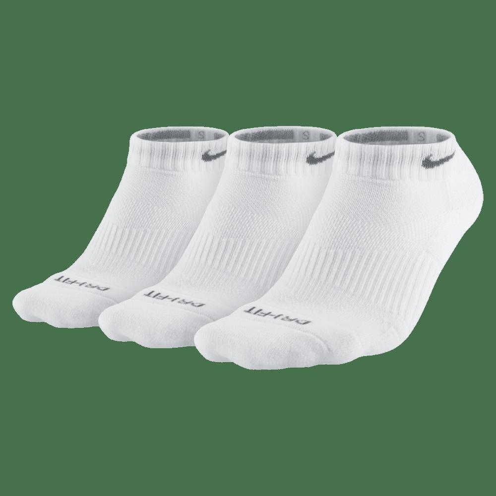 NIKE Women's Performance Cushion Graphic No-Show Training Socks, 3-Pack NO SIZE