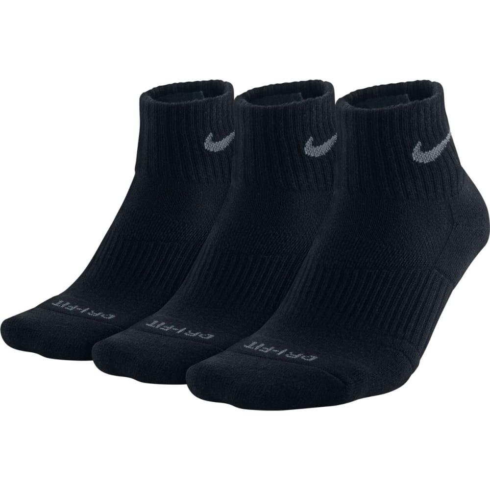 NIKE Men's Dri Fit Quarter Socks, 3 Pairs NO SIZE