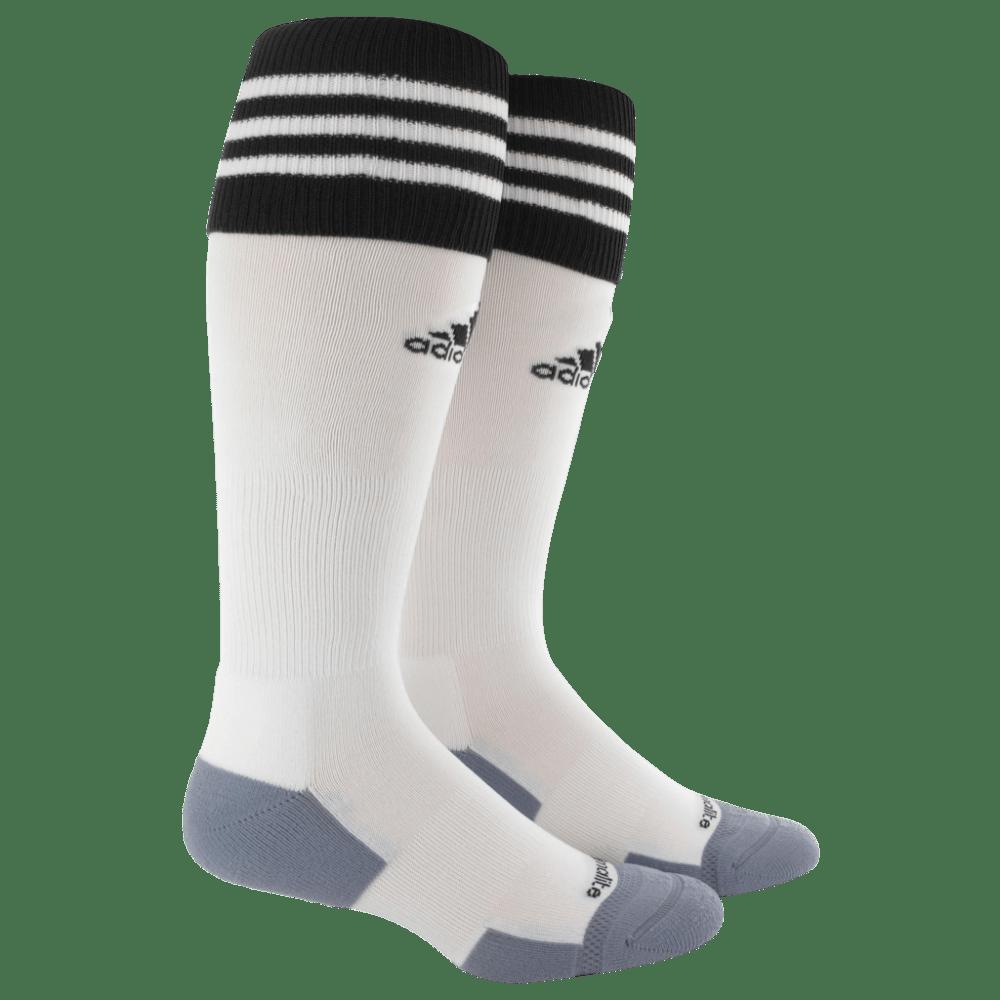 ADIDAS Copa Zone Cushion II Socks - WHITE/BLK 7130047 L