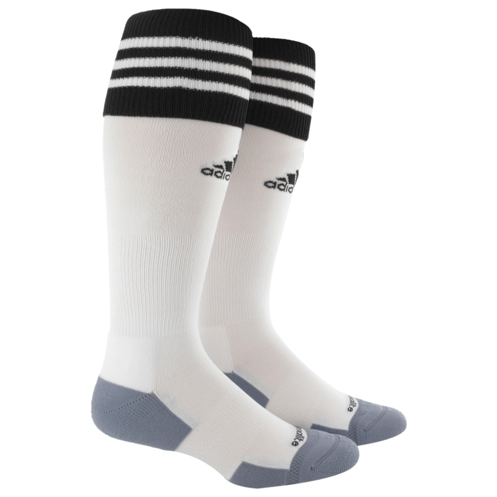 ADIDAS Copa Zone Cushion II Socks - WHITE/BLK 5130297 S