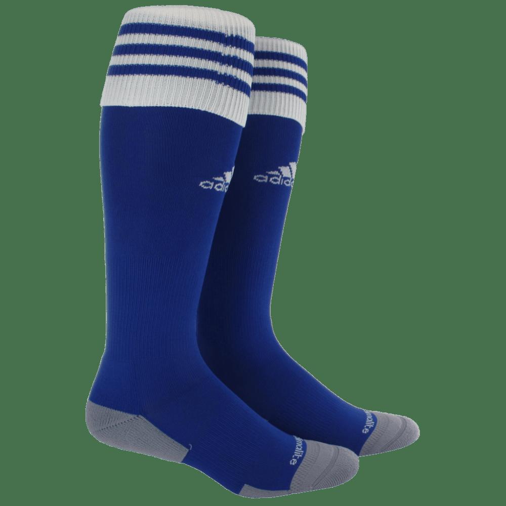 ADIDAS Copa Zone Cushion II Socks - COBALT/WHT 5130082 L