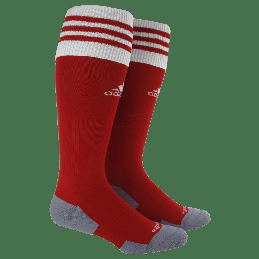 ADIDAS Copa Zone Cushion II Socks - RED/WHT 5130231 SMAL