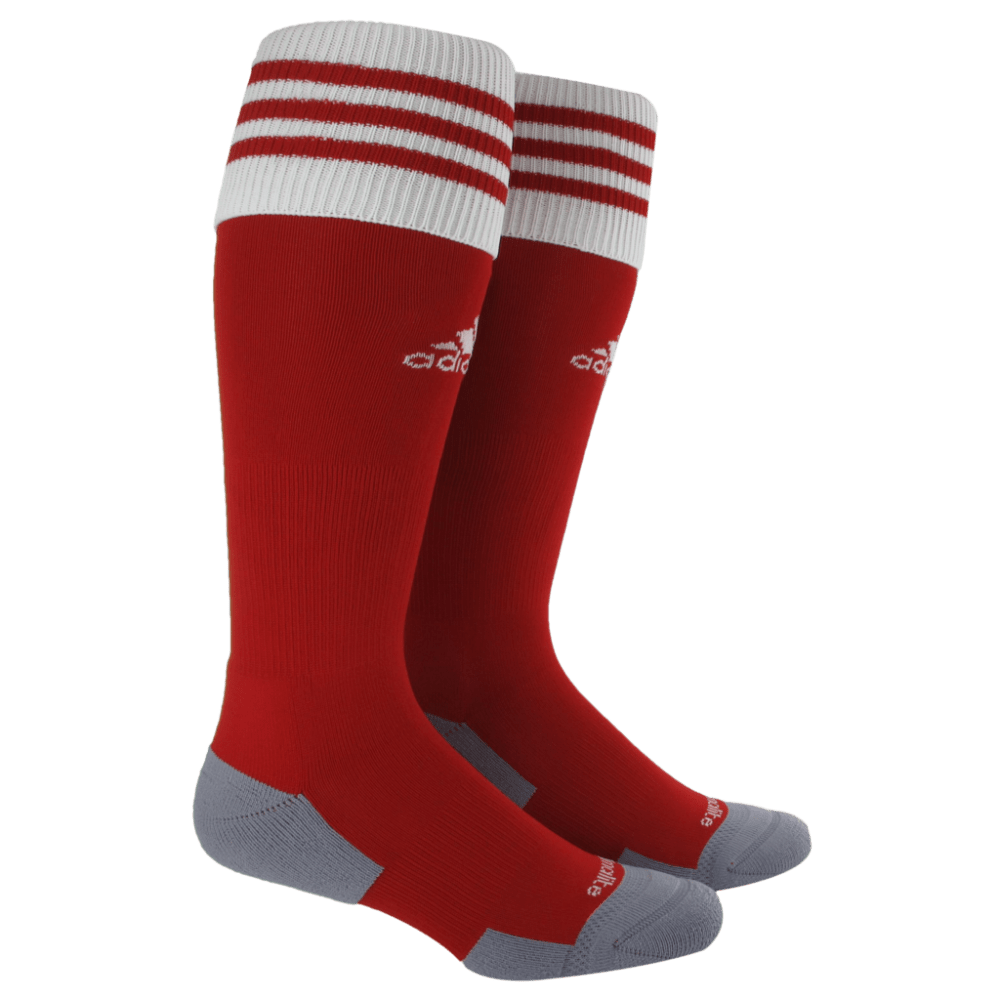 ADIDAS Copa Zone Cushion II Socks - RED/WHT 5130092 MED