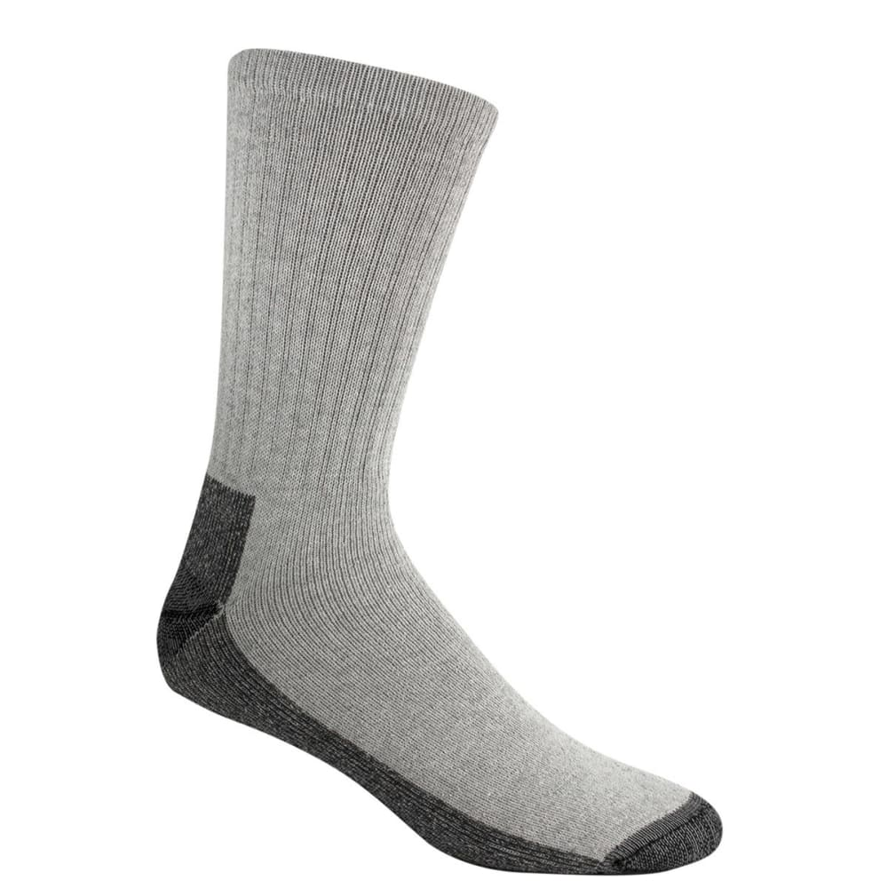 WIGWAM Men's At Work Crew Sock, 3-Pack - GREY 072