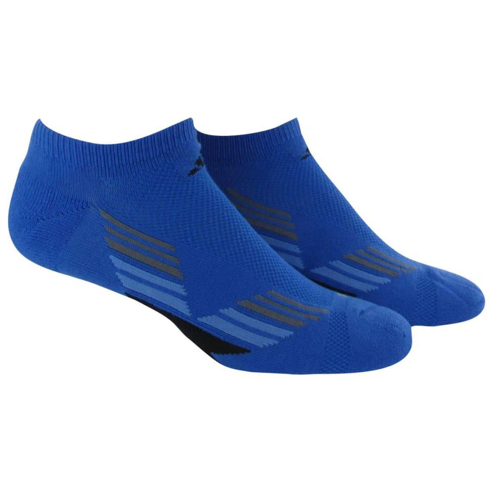 ADIDAS Men's Climacool® X II No Show Socks, 2-Pack - ROYAL BLUE/BLACK
