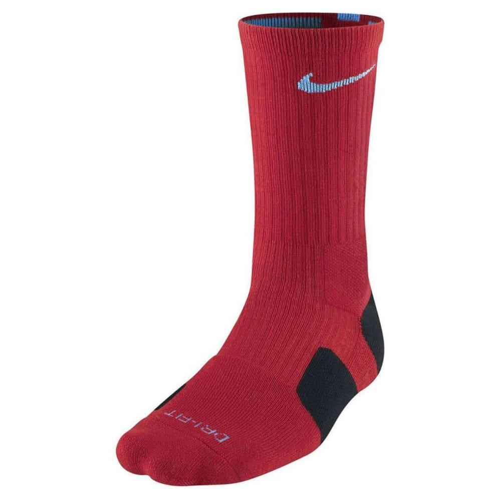 NIKE Men's Elite Basketball Socks - RED TWIST