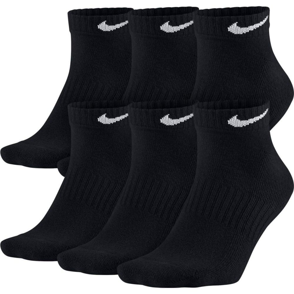 NIKE Men's Banded Low Cut Socks, 6 Pairs L