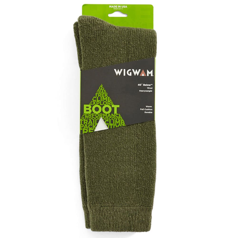 WIGWAM Men's 40 Below Socks - OLIVE 137