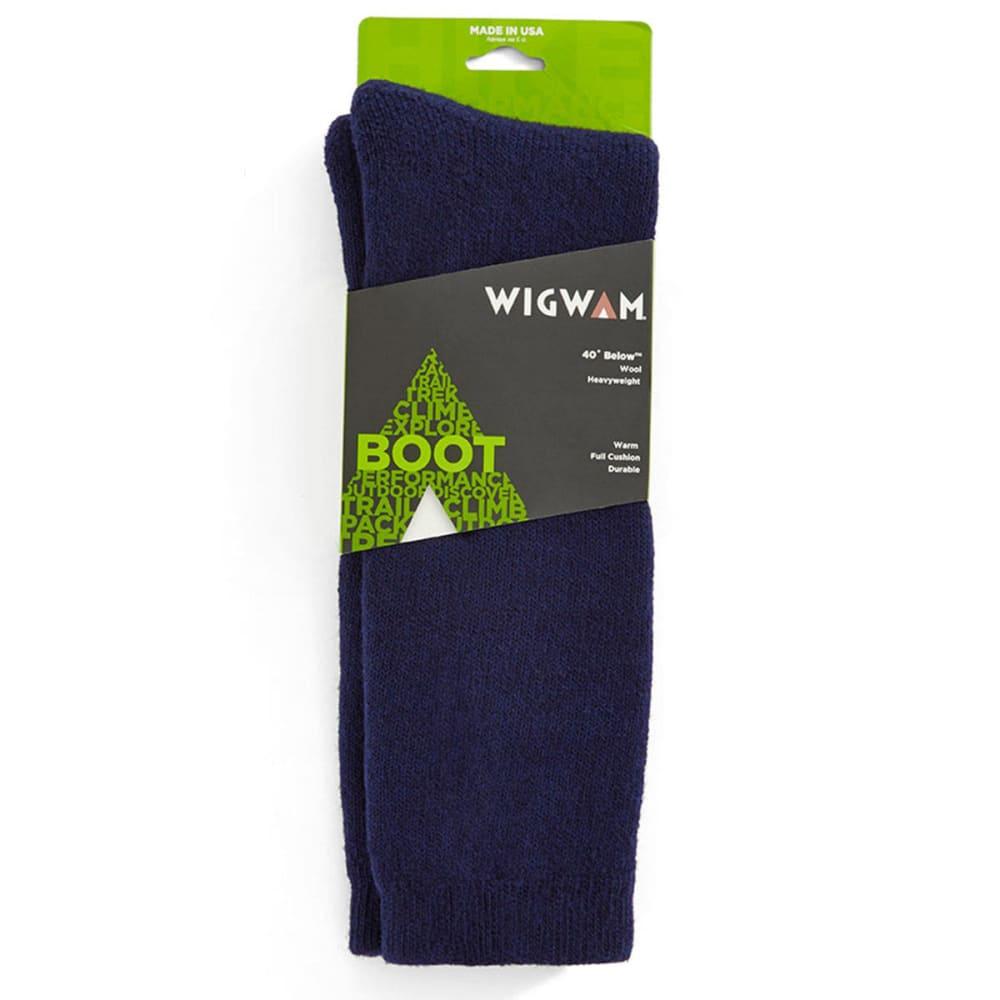 WIGWAM Men's 40 Below Socks - NAVY 586
