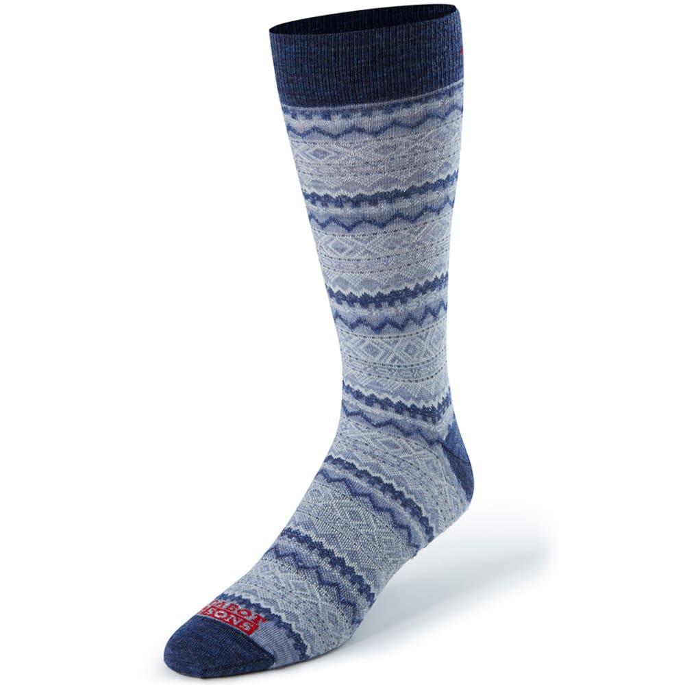 CABOT Men's Southwest Wrangler Crew Socks - DENIM