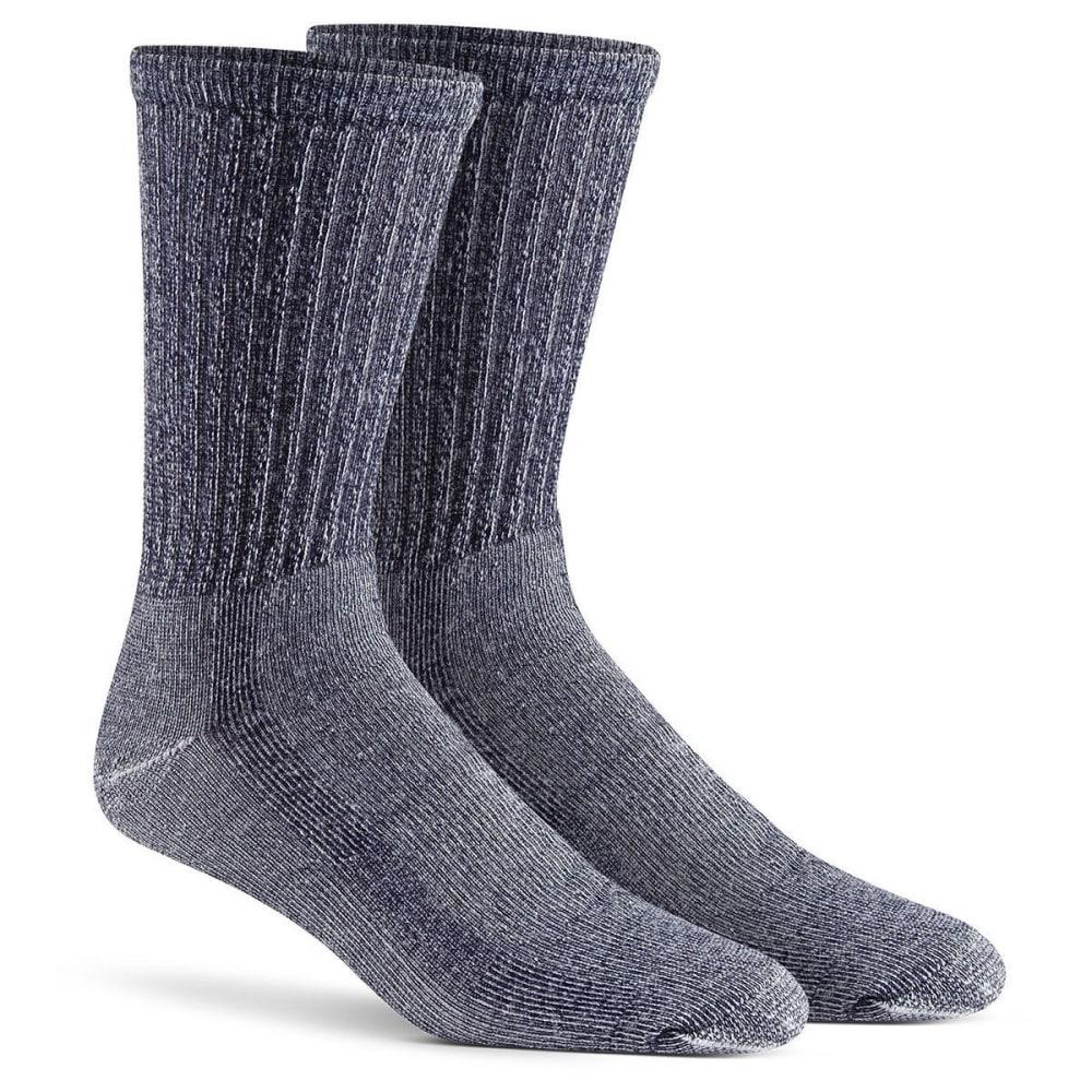 FOX RIVER Men's Merino Hiking Crew Socks, 2-Pack - 02030 NVY