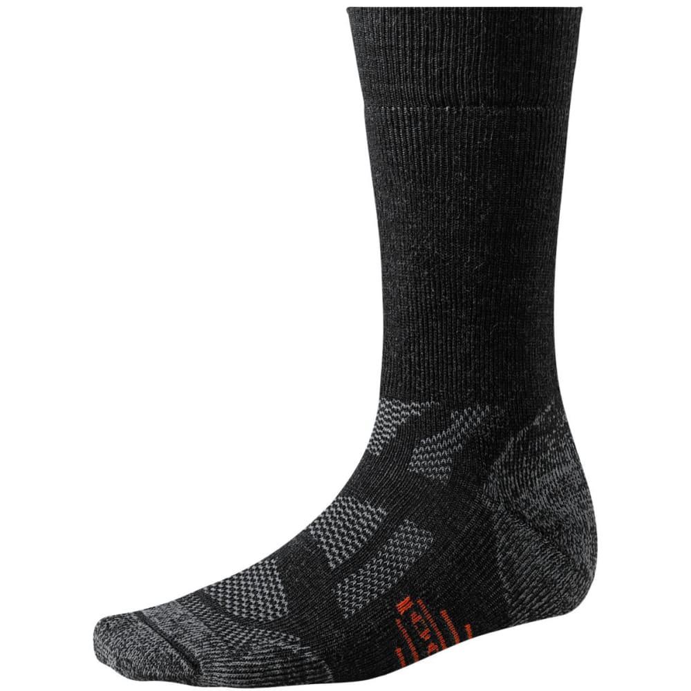 SMARTWOOL Men's Outdoor Medium Crew Socks - CHARCOAL