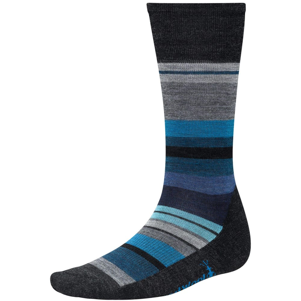 SMARTWOOL Men's Saturnsphere Socks - CHARCOAL 010